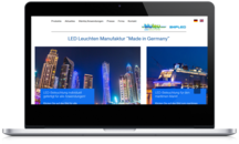 Webdesign bluleu LED Hannover